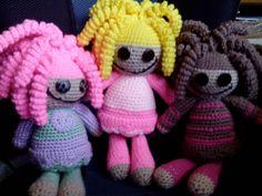 My new Crazed Crochet doll collection www.facebook.com/crazedcrochetartist