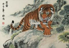 The protracted Civil War in China cost many lives and caused some of the cleared farmland to be reclaimed by the forests.  The Chinese Tiger even made a comeback.