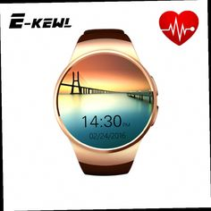 52.49$  Watch here - http://alit37.worldwells.pw/go.php?t=32666805645 - HOT! Original KW18 Full Round IPS Heart Rate Smart Watch MTK2502 BT4.0 Smartwatch for ios and Android Samsung Intelligent Watch