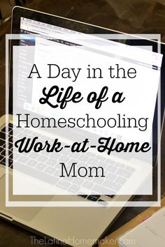 A Day in the Life of a Homeschooling Work-at-Home Mom. A glimpse into what a typical day looks like for our family. #CambialoConQS #ad