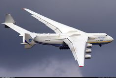 Antonov 225, largest plane ever built. Used today for cargo.