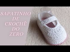 Crochet Baby, Baby Shoes, Make It Yourself, Youtube, Kids, Make Shoes, Crochet Baby Girls, Crochet Baby Clothes, Baby Shoes Pattern