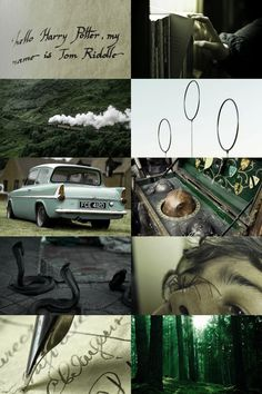 harry potter and the chamber of secrets aesthetic