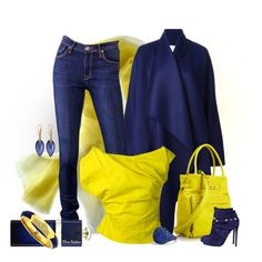 I never wear YELLOW, created by kim-zandvoort on Polyvore