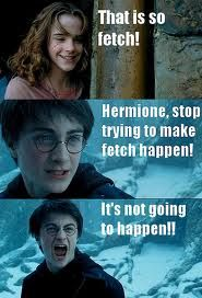 ohhh harry potter & mean girls mixed together makes my life more amazing. Lol mean girls!!!!!! <3