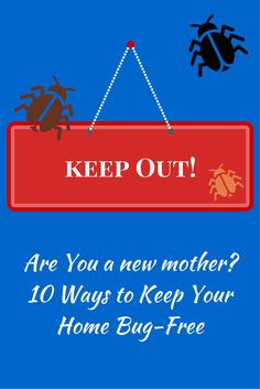 Are You a New Mother? 10 Ways to Bug-Proof Your Home #parenting #pestcontrol #home