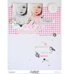 Clean and simple layout with the beautiful @prettylittlestudio @claudiavanrdesign collection With All My Heart.  Available at the @scrapbookwerkstatt  #layout #cleanandsimple #scrapbooking #scrapbook #scrapbookwerkstatt #sbwdesignteam #sbw #prettylittlestudio #withallmyheart #adore #felicityjane #clearstamps #dearlizzy #button #worddiecuts #thinkpinkandmint #thinkpinkandmintscrap #littlegirl #rosa #blau #grau #whateveryouarebethegoodone #gregordoldphotography #meaningful #memorykeeping…