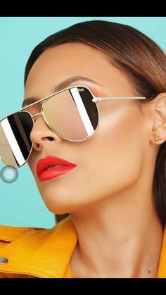 8ba0856afbf4 UV protection  Polycarbonate lens  Nickel free metal frame  Stainless steel  hinges  QUAY clear case and cleaning cloth included  Please note sunglasses  are ...