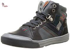Catimini Curtis, Chaussures de ville garçon - Gris (11 Vtc Gris/Noir), 31 EU - Chaussures catimini (*Partner-Link)