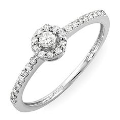 0.33 Carat (ctw) Sterling Silver Round Diamond Ladies Engagement Halo Style Bridal Ring DazzlingRock Collection. $99.00. This Ring is best for engagement ring .. Weighs approximately 1.45 grams. Has a stunning 0.33 Ct.T.W Round Diamonds.. Diamond Color / Clarity : I-J / I2-I3. 925-Sterling Sterling-Silver. Save 71% Off!