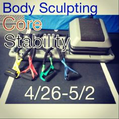 This week's focus is on Body Sculpting, Core and Stability. Sounds like summer must be near! 4/26-5/2 only at Poise Fitness