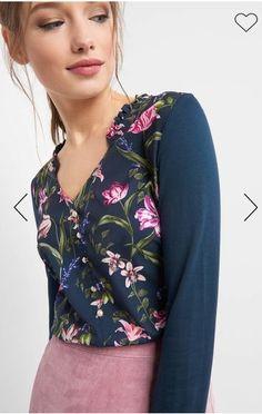 Erhältlich im online shop von orsay.com mit 4% Cashback auf jeden Einkauf als KGS Partner Floral Tops, Shirts, Partner, Women, Fashion, Chic Womens Fashion, Floral Patterns, Shopping, Moda