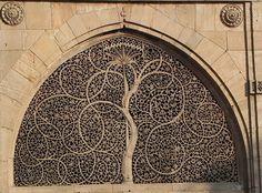 Mosquée sidi Sayeed, au Gujarat, Inde (1573). Construite par un responsable Sidi (ie indiens d'origine africaine)