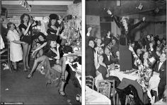 In the spirit New Year's Eve is just another job for the showgirls at the Diamond Horse-shoe