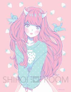 Pineberry - Art Print