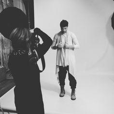 #Photoshoot of Kutzarov new #minimalist #menswear #collection Comming Soon...