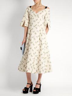 Karol Ottoman cotton-blend dress | Erdem | MATCHESFASHION.COM