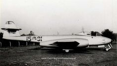 Gloster Meteor Mk 8 1 9I-15 (Custom) Gloster Meteor, Postwar, Ww2, Planes, Netherlands, Air Force, Dutch, The Past, Europe