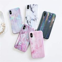 LaserAurora™ Marble iPhone Case Compatible Brand:Apple iPhones Features:Dirt-Resistant, Anti-Knock High Quality:Made with the best TPU... Iphone 7 Plus, Iphone 8, Case Iphone 6s, Silicone Iphone Cases, Marble Iphone Case, Marble Case, Free Iphone, Iphone Glitch, Cheap Phone Cases