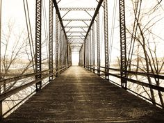 Sparks Ferry Bridge in Southern Indiana.