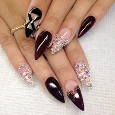 I love the design. I am just not into the pointy nails.