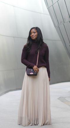 Downtown Demure // Modest Fashion Blog