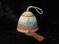 Southwest Dessert Saguaro Cacti Wind Chime Bell  by DayJahView