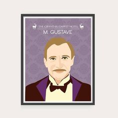 The Grand Budapest Hotel - Portraits, Wes Anderson movie illustration.#grandbudapest #grandbudapesthotel #wesanderson #wesandersonposter #movie #poster #film #illustration #graphic #design #drawing #print #vector #vectorart #art #agatha #gustave #mrgustave #zero #mendls
