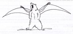 Nobody seems to know who drew this Bearodactyl, but we like it!