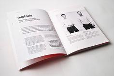 "evolaris magazine ""reality"" with AR, QR and iPad App by moodley brand identity , via Behance"