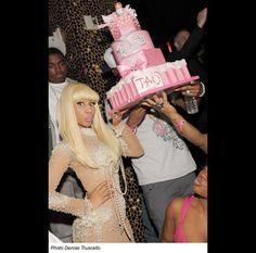 Nicki Minaj's custom Barbie birthday cake www.gimmesomesugarLV.com
