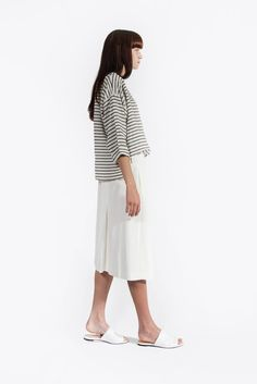 Wrapover Skirt by Lemaire // #kickpleat #christophe #lemaire #ss2015