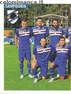 Calciatori 2015-2016: Fronte Figurina n. 472 Squadra/1 Sampdoria