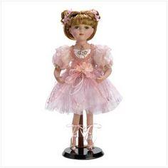 Pink Dress Ballerina Doll $25.75