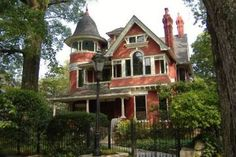 Victorian located in the historic Atlanta neighborhood of Inman Park.