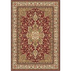 """Oriental Persian Rug Traditional Area Style Carpet Antique Red 3'7"""" X 5'2"""" - http://home-garden.goshoppins.com/rugs-carpets/oriental-persian-rug-traditional-area-style-carpet-antique-red-37-x-52/"""