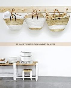 30 Ways to Use a French Market Basket | Lolalina