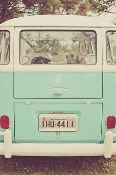 mint VW busje
