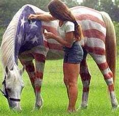 Fourth of July! Too bad I have a dark horse.