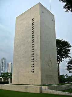 US War Memorial, Philippines Intramuros, Manila, Philippines, Skyscraper, Multi Story Building, War, Skyscrapers