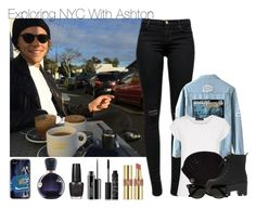 """Untitled #487"" by iiscool ❤ liked on Polyvore featuring J Brand, Aquascutum, UGG Australia, Ray-Ban, Yves Saint Laurent, NARS Cosmetics, MAC Cosmetics, OPI, Lacoste and women's clothing"