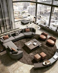 Minimal Interior Design Inspiration in 2020 Interior Design Examples, Best Interior Design, Luxury Interior, Interior Design Inspiration, Living Room Designs, Living Room Decor, Home Theater Decor, Decoration Inspiration, Decor Ideas
