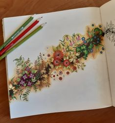 Colouring Pages, Coloring Books, Johanna Basford Secret Garden, Secret Garden Coloring Book, Johanna Basford Coloring Book, Tree Art, Adult Coloring, Colored Pencils, Drawings
