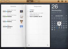 30 excellent ipad app interfaces.