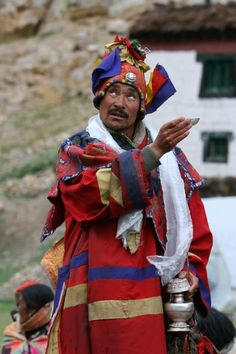Channeling the village gods in Langza, Spiti Valley