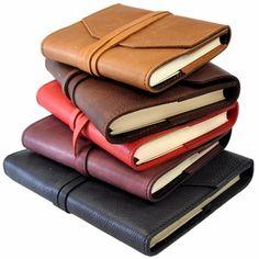 Laccio Refillable Calfskin Leather Journal- Jenni Bick Bookbinding