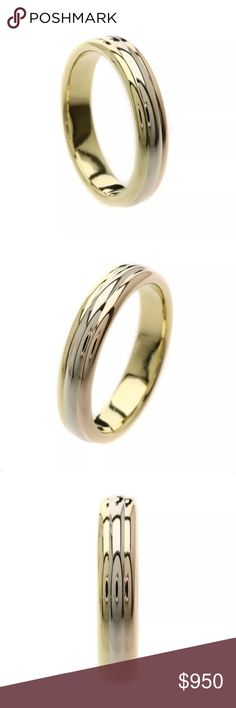 8ad5ceb02 Authentic 3 Tone Cartier Ring Authentic Cartier 3 Color Real Gold Ring in a  great Condition