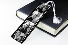 personalised photograph reel metal book mark by we love to create -- I could make that