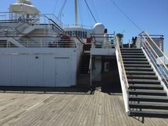 The main deck at the