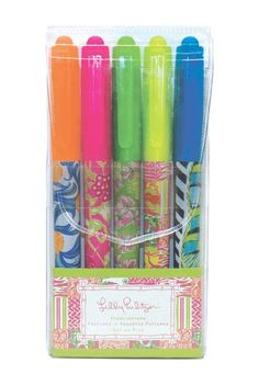 I wish these highlighters were still around :(. I hope that next season they bring out some like these again! Lilly Pulitzer Highlighters